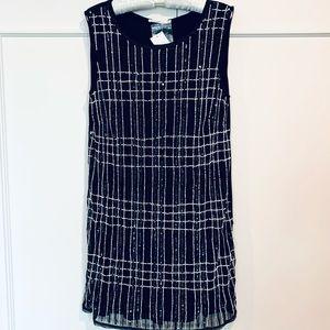 Hazel Sequin & Beaded Dress Size M